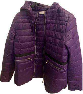 Stefanel Purple Polyester Coats