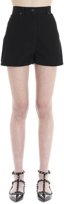 Valentino VLTN Star Denim Shorts