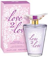 Love2Love Women's Eau de Toilette Spray Freesia + Violet Petal