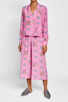 Natasha Zinko Printed Silk Culottes