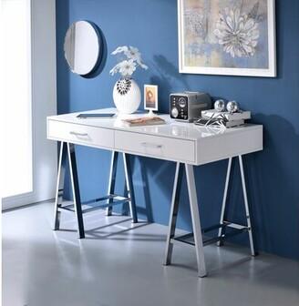 Brayden Studio Kelemen Desk Color: White
