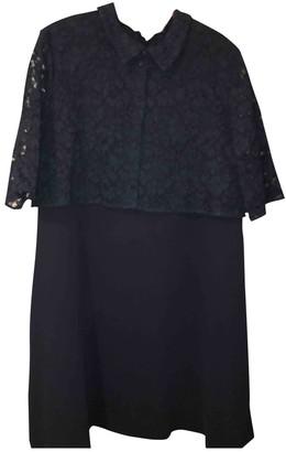 Claudie Pierlot Navy Lace Dress for Women