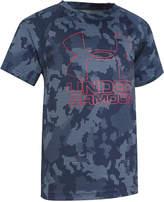 Under Armour Logo-Print Camo-Print Cotton T-Shirt, Little Boys (4-7)
