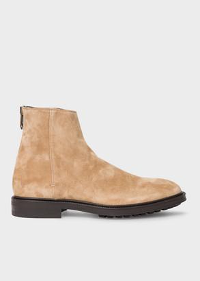 Men's Tan Suede 'Oscar' Boots