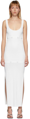 CHRISTOPHER ESBER White Deconstructed Tank Dress
