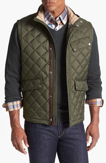 Brooks Brothers Quilted City Vest
