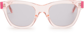 Christopher Kane D-frame acetate sunglasses