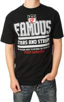 Famous Stars & Straps Men's Street Knowedge T-Shirt-arge