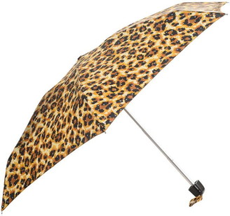 Fulton Tiny Leopard Print Umbrella