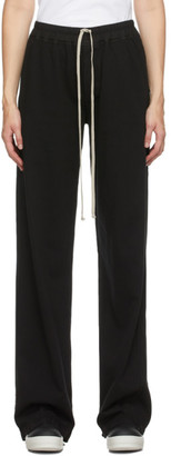 Rick Owens Black Jet Drawstring Lounge Pants