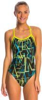 Arena Alphabet Challenge Back One Piece Swimsuit 8147027