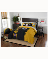 Northwest Company Pittsburgh Steelers 7-Piece Full Bed Set