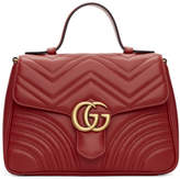 Gucci - Sac rouge Smal GG Marmont 2.0