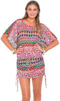 Luli Fama Lil Gem South Beach Dress in Multicolor (L448968)
