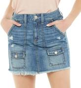 So Juniors' SO Cargo Pocket Denim Skirt