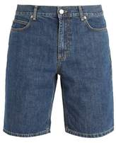 J.W.Anderson Long cotton-denim shorts