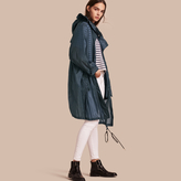 Burberry Oversize Technical Packaway Parka with Hood