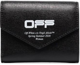 Off-White Logo Print Envelope Wallet