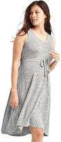 Gap Softspun tie-waist dress