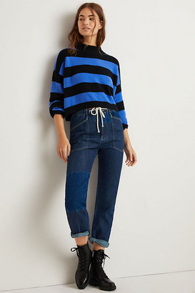 Pilcro And The Letterpress Pilcro Ultra High-Rise Pull-On Slim Jeans By in Blue Size XS