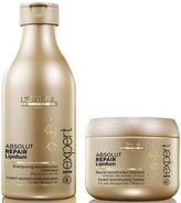 L'Oreal Professionnel Absolut Repair Lipidium Shampoo (250ml) & Masque (200ml) (Bundle)