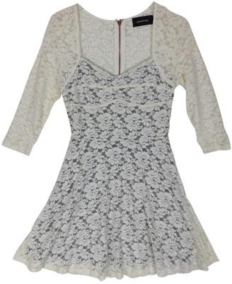 MinkPink White Lace Dress for Women