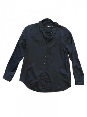 Uniqlo Black Cotton Top for Women