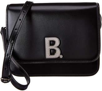 Balenciaga B Leather Shoulder Bag