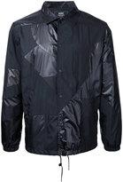 Anrealage patchwork jacket - men - Nylon - 46