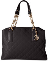 Tommy Hilfiger Isabella Quilted Satchel