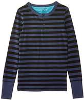 Bjorn Borg Boy's Henley Striped Pyjama Top,(Manufacturer Size: 6-7 Years)