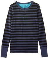Bjorn Borg Boy's Henley Striped Pyjama Top