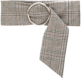 Joshua Millard wide tweed belt