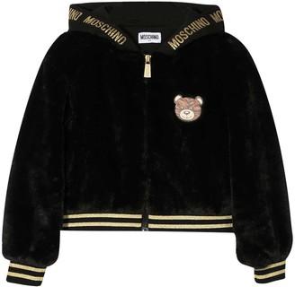 Moschino Black Bomber Jacket