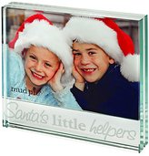 Mud Pie Mudpie Santa's Lil' Helper Glass Frame