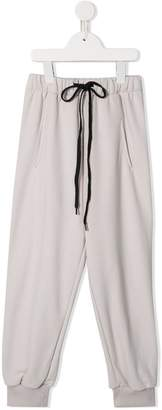 Natasha Zinko Kids drop-crotch track pants