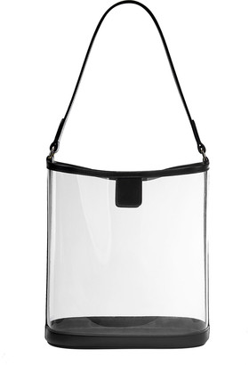 GiGi New York Virginia PVC Hobo Bag with Leather Trim