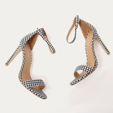 Public Desire Avril Barely There Heels in Gingham