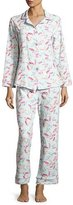 BedHead Print Classic Pajama Set, Taffy