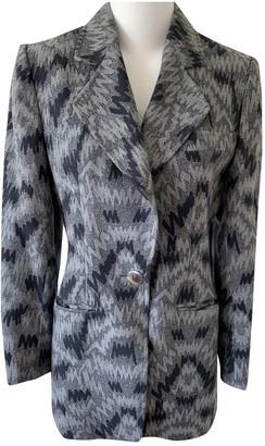 Guy Laroche Grey Wool Jackets