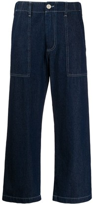 Jejia High Rise Flared Leg Jeans