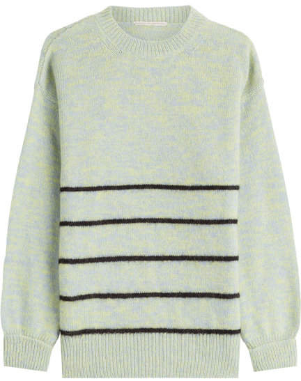 Marco De Vincenzo Pullover with Wool, Angora and Mohair