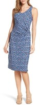 Nic+Zoe Petite Women's Triangle Tiles Sheath Dress