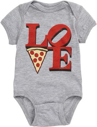 Kid Dangerous Love Pizza Bodysuit