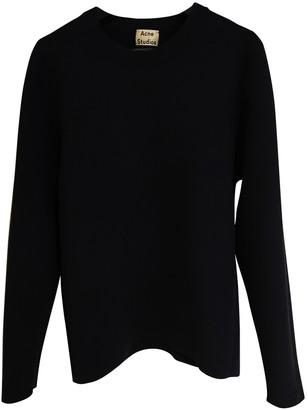 Acne Studios Navy Viscose Knitwear & Sweatshirts