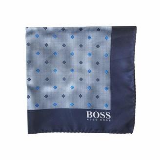 Hugo Boss Pocket Square Red 100/% Silk 50386869