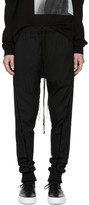 Song For The Mute Black Slim Herringbone Lounge Pants