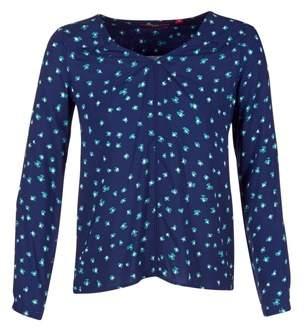 S'Oliver RESOTU women's Blouse in Blue