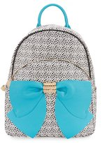 Betsey Johnson Spotted Bow Backpack