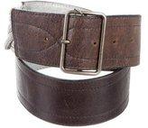 Dries Van Noten Embellished Leather Belt